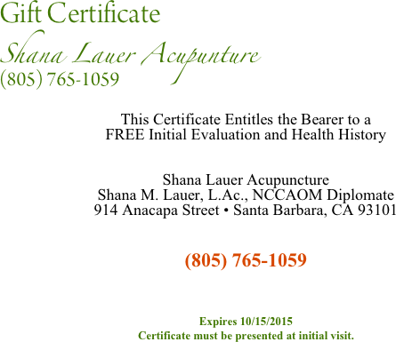 Gift certificate for This certificate entitles